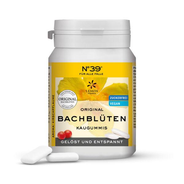 N°39 Kaugummi Für alle Fälle Lemon Pharma Original Bachblüte Gelöst und Entspannt Rescue