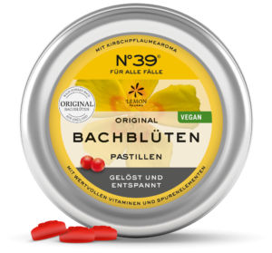 Pastillen Pastilles 39 Für alle Fälle For Emergencies Lemon Pharma Original Bachblüten bach flower