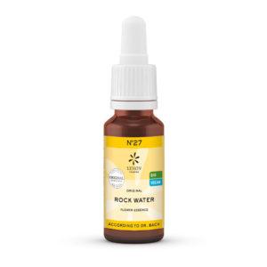Nr 27 Rock Water Heilkräftiges Quellwasser Überbordende Sorge um Andere Lemon Pharma Original Bachblüten Dr. Bach