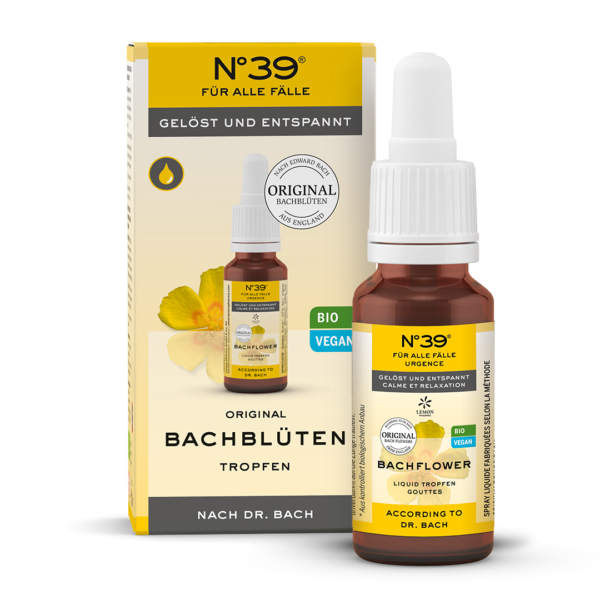 Liquid Tropfen Drops 39 Für alle Fälle Lemon Pharma Original Bachblüten bach flower