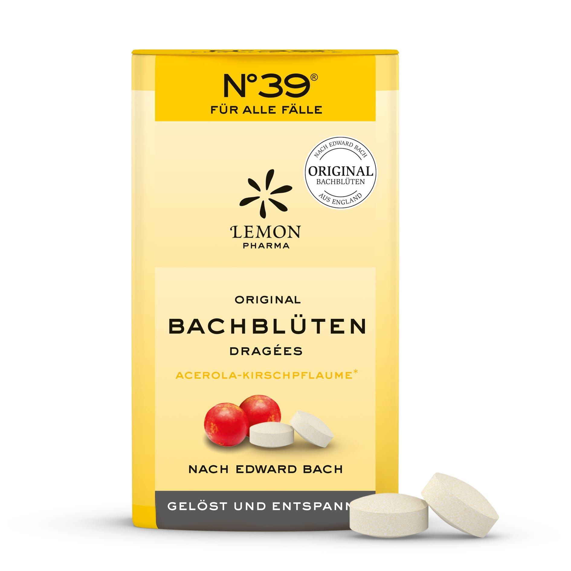 Dragees 39 Für alle Fälle Lemon Pharma Original Bachblüte Kirschpflaume