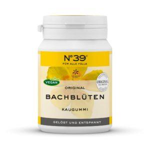 Kaugummi Kaugummis 39 Für alle Fälle Lemon Pharma Original Bachblüte Innerer Frieden Rescue