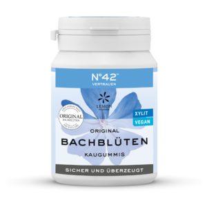 Kaugummi 42 Vertrauen Lemon Pharma Original Bachblüte Bach flowers sicher und überzeugt xylit vegan Intuition