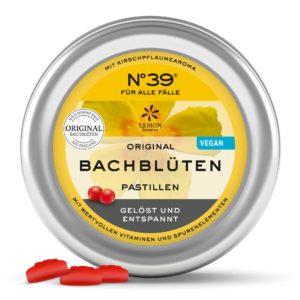 N°39 Pastille FÜR ALLE FÄLLE Original Bachblüten original bachflower Dr. Bach Lemon Pharma Bachblüten Bonbons