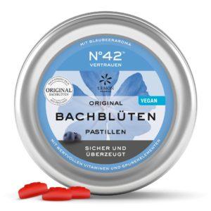 Lemon Pharma Original Bachblüten Nr 42 Vertrauen Pastillen Sicher und überzeugt Murnauers Bachblüten Pastillen Rescue Bachblüten Bonbons