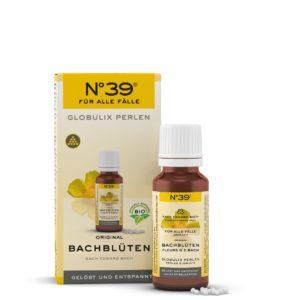 Globulix Perlen 39 Für alle Fälle For Emergencies Lemon Pharma Original Bachblüten bach flower Gelöst und entspannt Murnauers