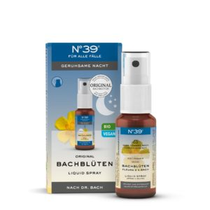Liquid Spray Geruhsame Nacht 39 Für alle Fälle Lemon Pharma Original Bachblüte