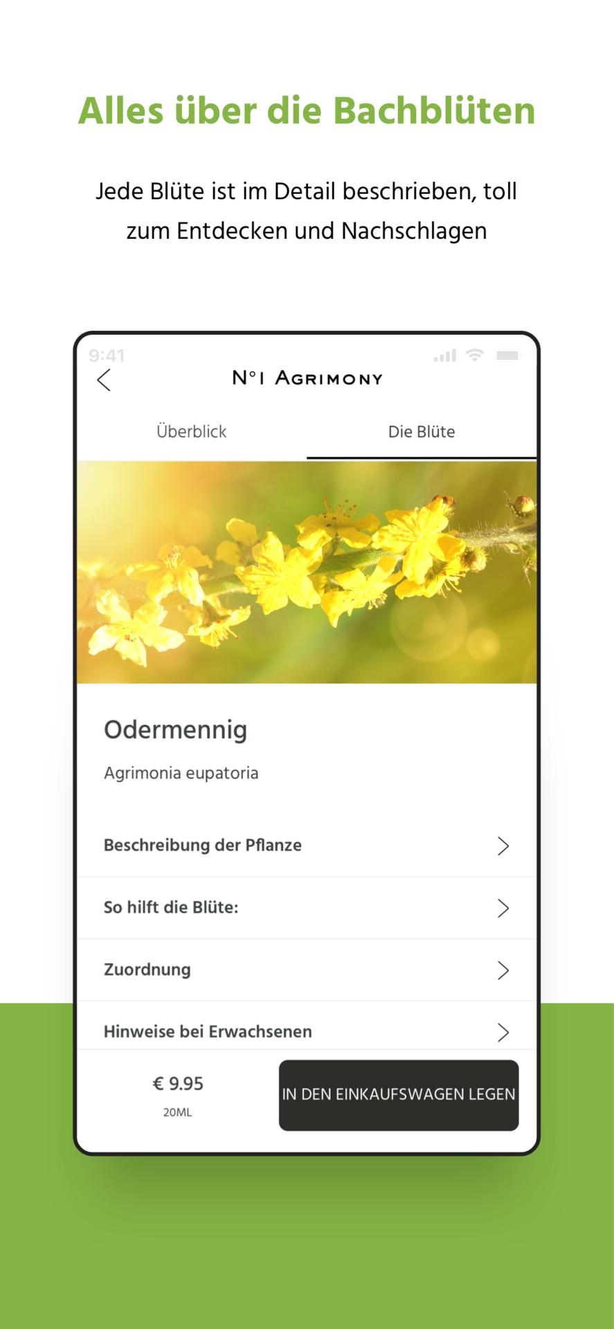 Original Bachblüten App Dr. Bach Lemon Pharma